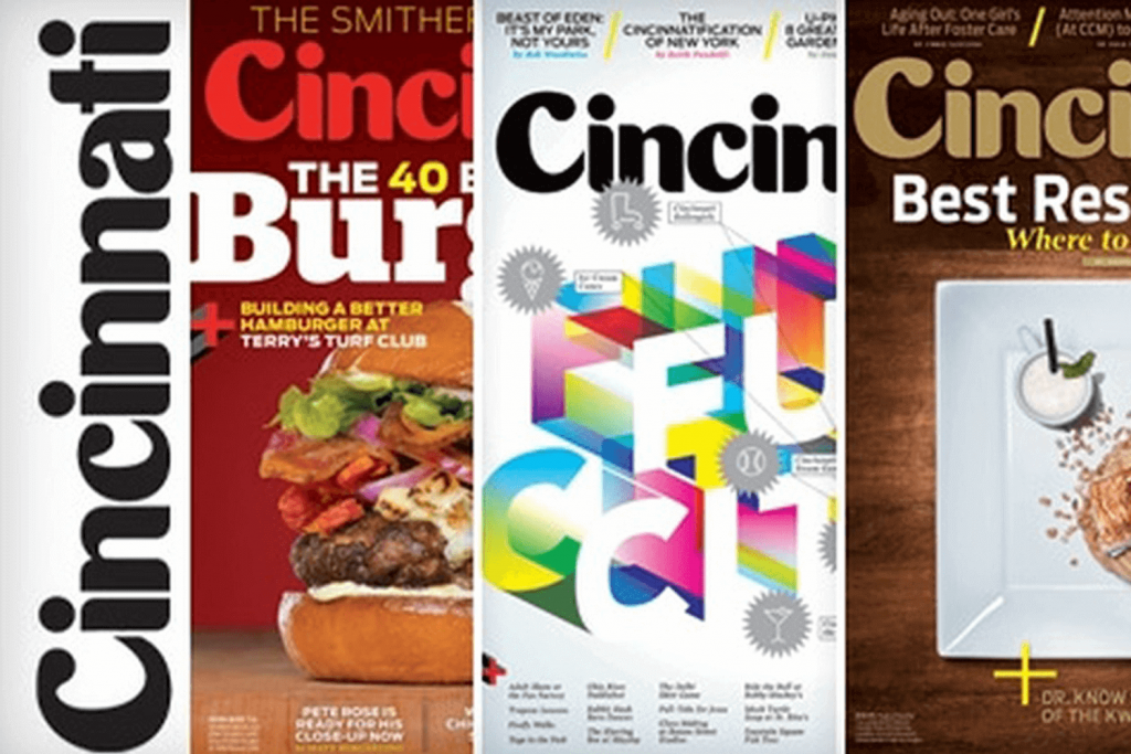 Cincinnati Magazine cover collage