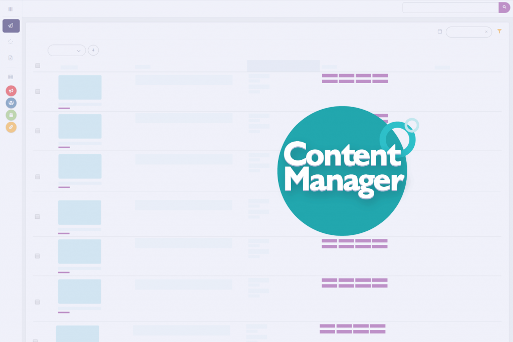 Cerkl content manager wireframe and badge logo