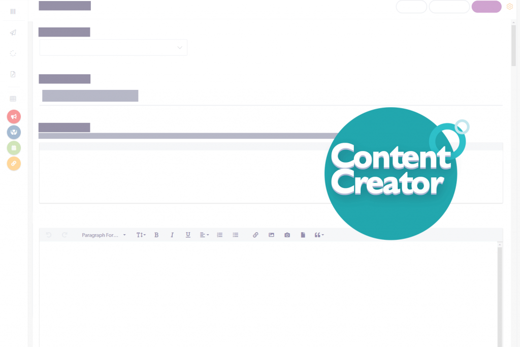 Cerkl content creator wireframe and badge icon graphic
