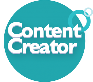 Cerkl content creation bade icon graphic