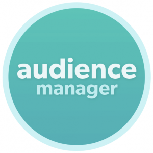 Cerkl audience manager badge icon graphic