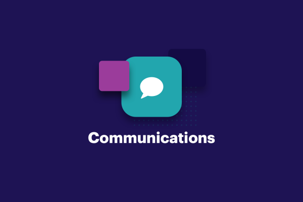 Internal communications icon graphic