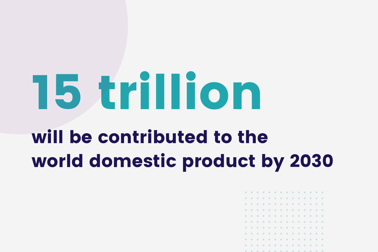 World Domestic Product statistics graphic