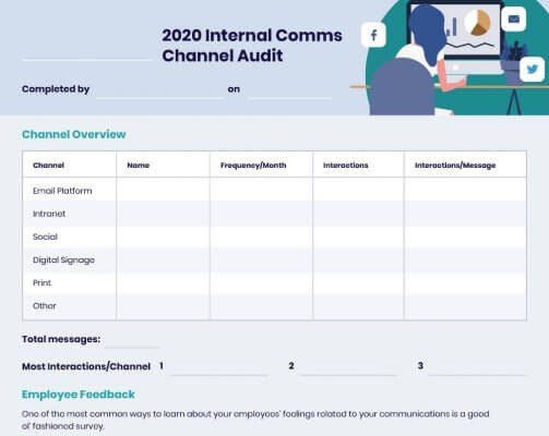 Internal Communications Channel Audit Example