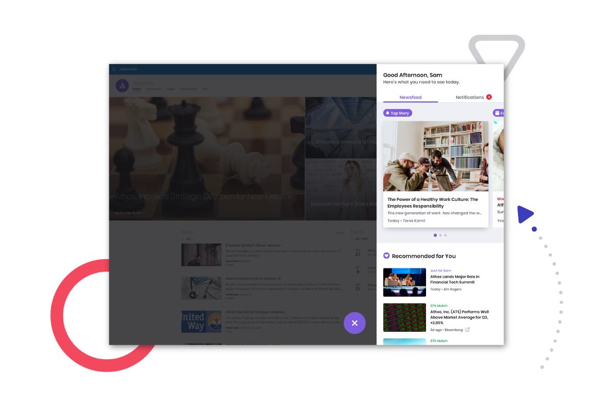 Cerkl Broadcast SharePoint Notifications, Cerkl Broadcast SharePoint Personalization, Cerkl Broadcast Intranet Notifications, Cerkl Broadcast Intranet Personalization