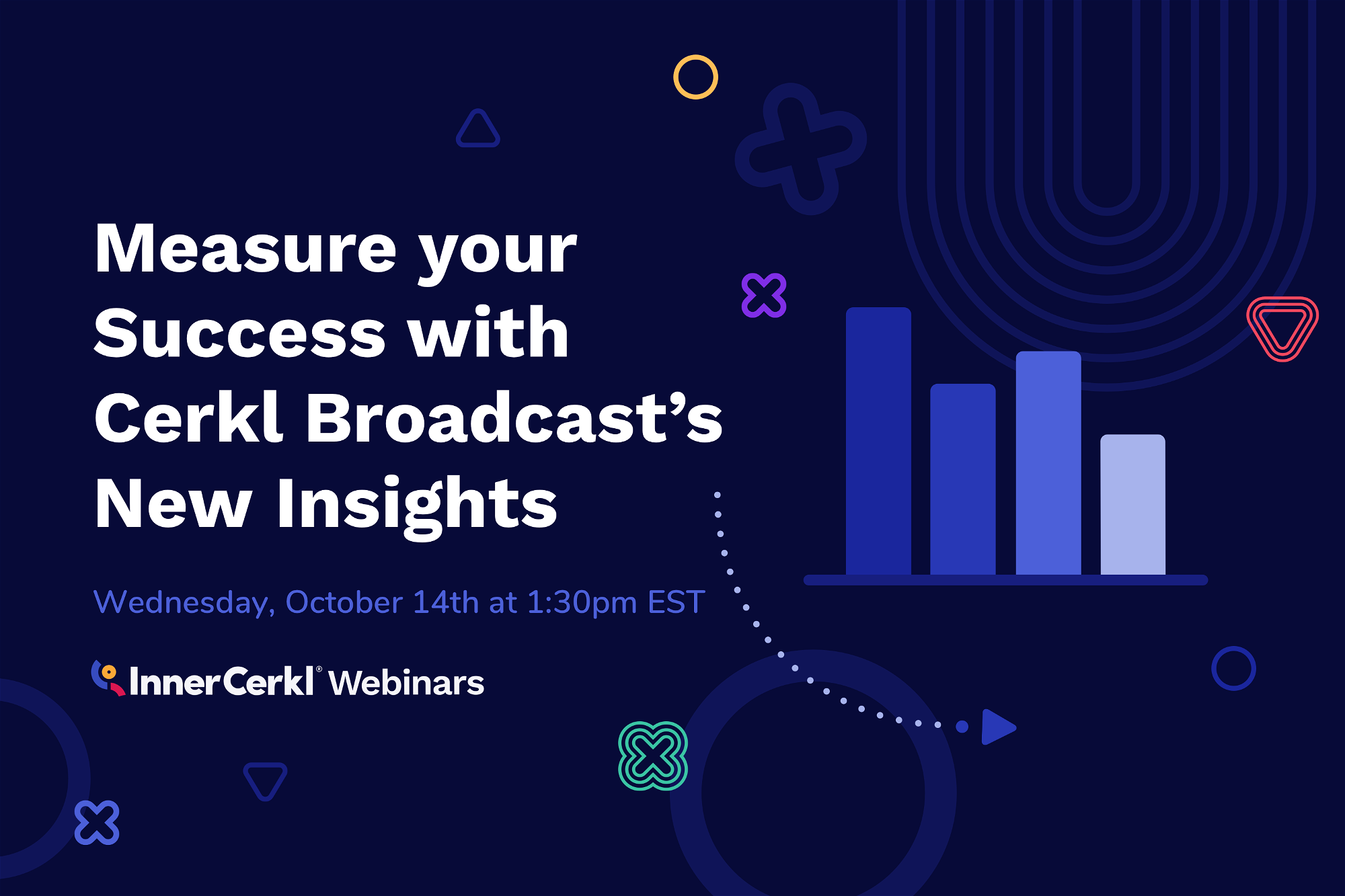 Measure Your Success with Cerkl Broadcast's New Insights Webinar, Cerkl U Webinar, Measure Your Success with Cerkl Broadcast's New Insights Cerkl U Webinar